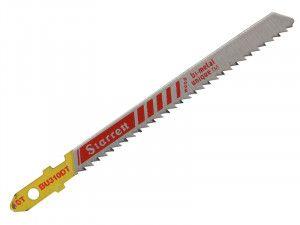 Starrett BU310DT-5 Wood Cutting Jigsaw Blades Pack of 5