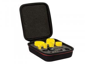 Starrett KFC07021 Bi-Metal Fast Cut Plumber's Holesaw Kit