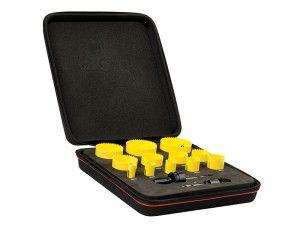 Starrett KFC12021 Bi-Metal Fast Cut Plumber's & Electrician's Holesaw Kit