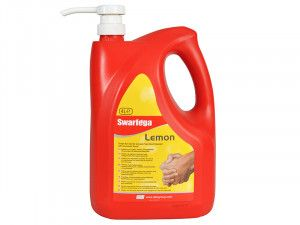Swarfega Lemon Hand Cleaner Pump Top Bottle 4 Litre