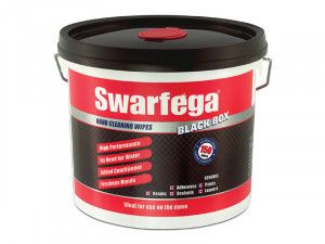 Swarfega Black Box® Heavy-Duty Trade Hand Wipes (150)