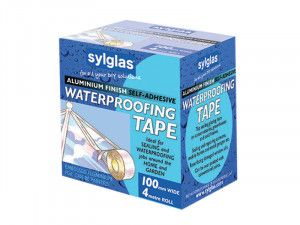 Sylglas, Aluminium Finish Waterproofing Tape