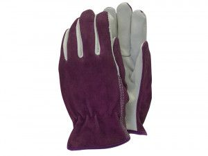 Town & Country TGL114M Premium Leather & Suede Ladies Gloves (Medium)
