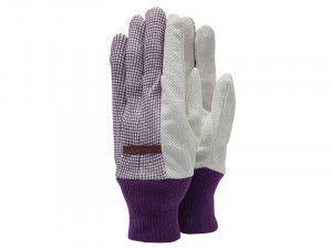 Town & Country TGL201 Polka Dot Cotton Grip Ladies Gloves (One Size)