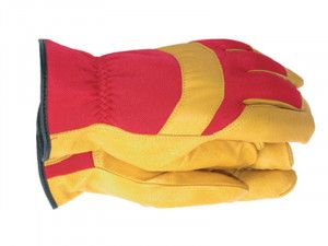 Town & Country TGL420 Mens Deluxe Leather Palm Gloves - Medium
