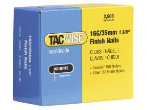 Tacwise, 16 Gauge Series Finish Nails