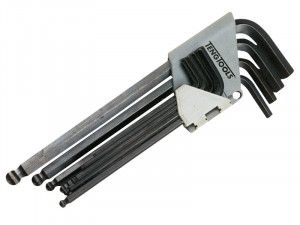 Teng, Ball Point Hex Key Set of 9