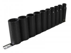Teng 9126 Deep Impact Socket Set of 10 Metric 1/2in Drive