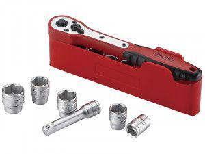 Teng M1413N1 Basic Socket Set of 13 1/4in Drive