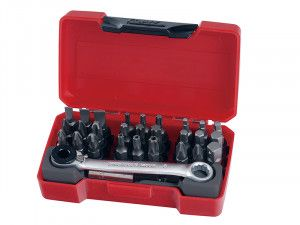 Teng TM029 Socket Bit Set of 29 1/4in Drive