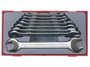 Teng TT6208 8 Piece Metric Open End Spanner Set