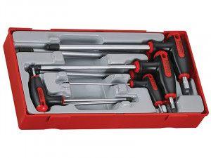 Teng TTHEX7 7 Piece Metric Hex T Handle Drivers