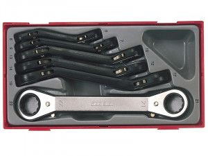Teng TTRORS 6 Piece Metric Ratchet Ring Spanners