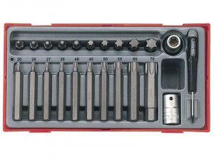 Teng TTTX23 23 Piece TX Bit Socket Set