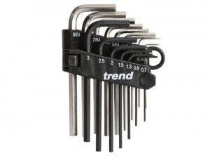 Trend HK/SET/A Mini Hex Key Set
