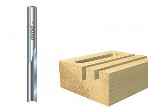 Trend, 1/4in Two Flute Cutters Solid Carbide