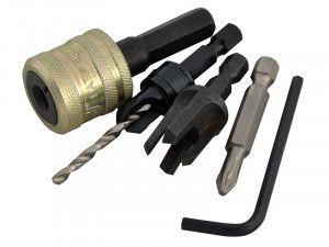 Trend SNAP/PC10/Set Plug Cutter No10 Screw Set