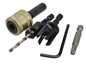 Trend SNAP/PC12/Set Plug Cutter No12 Screw Set