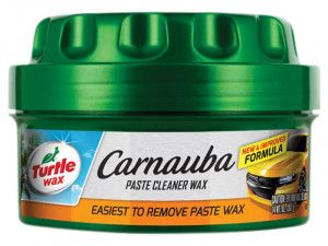 Turtle Wax Carnauba Paste Cleaner Wax, New Formula