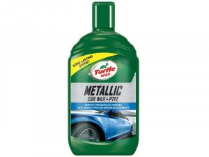 Turtle Wax Metallic Car Wax + PTFE 500ml