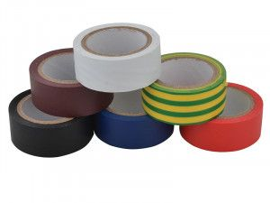 Unibond Electrical Tape (6 Colour Pack) 19mm x 3.5m