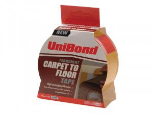 Unibond Carpet Tape Permanent 50mm x 10m