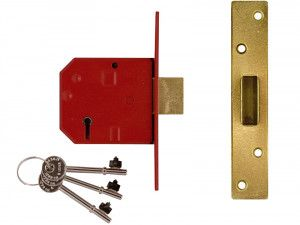UNION, 2134E BS 5 Lever Mortice Deadlock