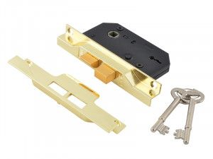 UNION, 2 Lever Rebated Sashlock - 2242