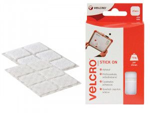 VELCRO® Brand, Hook & Loop Stick On Squares