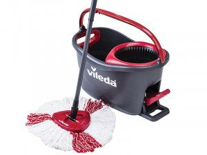 Vileda, EasyWring & Clean Turbo Spin Mop & Bucket