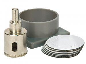 Vitrex Diamond Tile Drill Self Adhesive Kit System 35mm