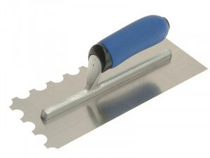 Vitrex Professional Notched Adhesive Trowel 20mm Stainless Steel 11 x 4.1/2in