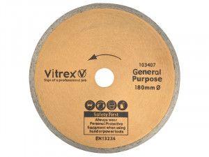 Vitrex Diamond Blade Standard 180mm