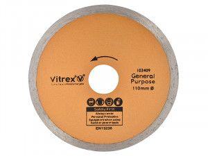 Vitrex Diamond Blade Standard 110mm