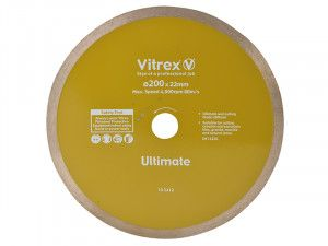 Vitrex Diamond Blade Ultimate 200mm