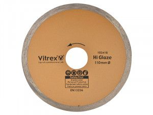 Vitrex Diamond Blade Hi Glaze 110mm