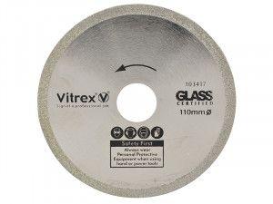 Vitrex Diamond Blade Glass 110mm