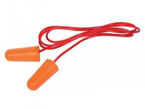 Vitrex Corded Disposable Earplugs (2 Pairs)