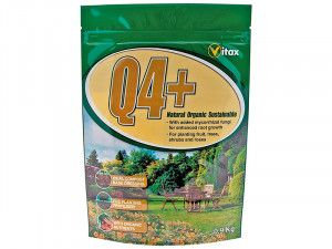 Vitax Q4+ Pre Planting Powder Fertilizer 0.9kg