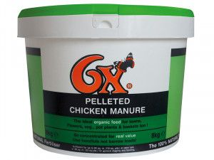 Vitax 6X Pelleted Poultry Manure 8kg Tub