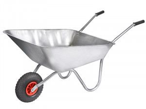 Walsall 85L Everyday Galvanised Wheelbarrow