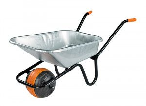 Walsall, 90 Litre Duraball Galvanised Wheelbarrow