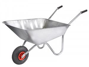 Walsall 85L All-Galvanised Rosemoor Garden Wheelbarrow