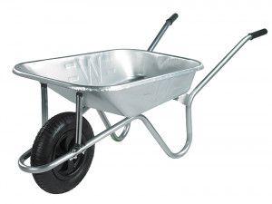 Walsall 85L Prestige Galvanised Wheelbarrow