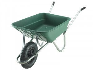Walsall 90L Royale Green Polypropylene Wheelbarrow