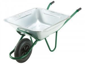 Walsall 175L Galvanised Smithfield Agricultural Wheelbarrow