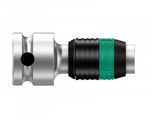 Wera 8784 B1 Zyklop Bit Adaptor 3/8in Square Drive To 1/4in Hex Bits