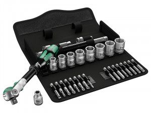 Wera 8100 SB 6 Zyklop Speed Ratchet Metric Set 3/8in Drive