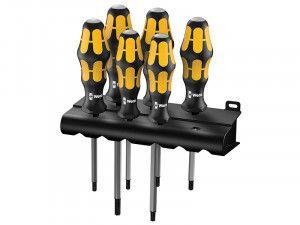 Wera 977/6 Kraftform Chiseldriver Set of 6 TX