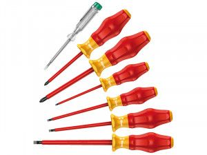 Wera Kraftform Comfort VDE  Screwdriver Set of 7 SL/PH